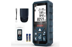Test et avis sur le télémètre laser pas cher DTape DT50